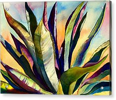 Electric Agave Acrylic Print