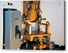 Electric Chair Acrylic Print