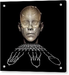 Electroencephalography Acrylic Print by Zephyr