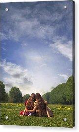 Embrace Acrylic Print by Joana Kruse