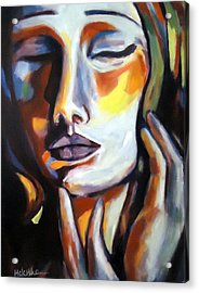 Acrylic Print featuring the painting Emotion by Helena Wierzbicki