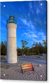 Empire Michigan Lighthouse Acrylic Print