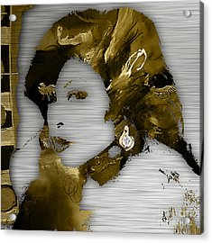 Empire's Cookie Taraji P. Henson Acrylic Print by Marvin Blaine