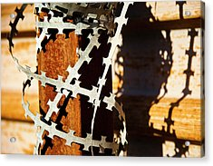 Enhanced Level Of Safety And Security 1 Acrylic Print by Mark Weaver
