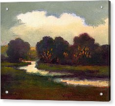 Evening Glow Acrylic Print by J Reifsnyder