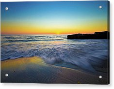 Acrylic Print featuring the photograph Expanse 3 by Ryan Weddle