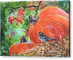 Fall Is Here Acrylic Print