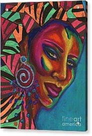 Feminine Mystique Acrylic Print