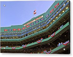 Fenway's 100th Acrylic Print by Joann Vitali