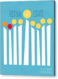 Festival Of Lights Acrylic Print