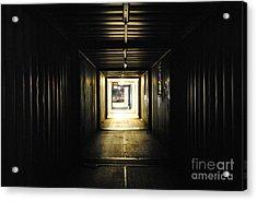 Acrylic Print featuring the photograph Final Exit by Maja Sokolowska