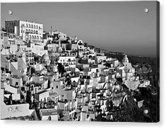Fira City Acrylic Print