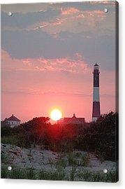 Fire Island Sunset Acrylic Print