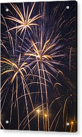 Fireworks Celebration  Acrylic Print