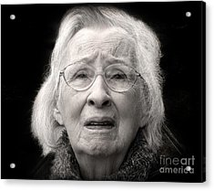 Five Minutes In A Long Life Acrylic Print