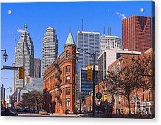 Flatiron Building In Toronto Acrylic Print