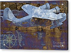 Flight Acrylic Print by Molly McPherson
