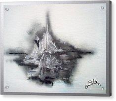 Floating Image Acrylic Print