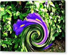 Flower Abstract Study-2 Acrylic Print by Anand Swaroop Manchiraju