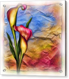 Flower Power Acrylic Print