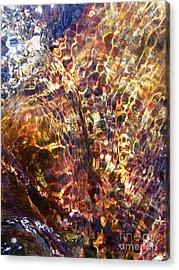 Flowing  Acrylic Print by Agnieszka Ledwon