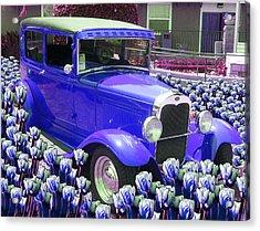 Ford Acrylic Print by Moshfegh Rakhsha