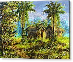 Forest House Acrylic Print