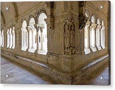 France, Arles, Abbey Of Saint Peter Acrylic Print