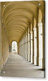 France, Bordeaux, Grand Theatre De Acrylic Print