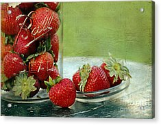 Fresh Berries Acrylic Print by Darren Fisher