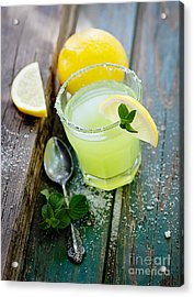 Fresh Lemonade Acrylic Print by Mythja  Photography
