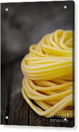 Fresh Pasta Acrylic Print by Mythja  Photography