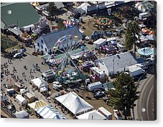 Fryeburg Fair, Maine Me Acrylic Print by Dave Cleaveland