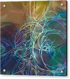 Galactic Textures Acrylic Print