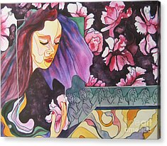 Garden Secrets Acrylic Print by Diana Bursztein