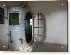 Gas Chamber At Wyoming Frontier Prison Acrylic Print