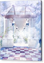 Gateway To Heaven Acrylic Print by Rudy Umans