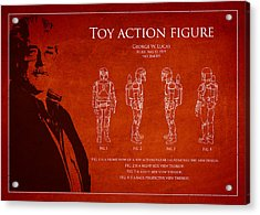George Lucas Patent 1979 Acrylic Print by Aged Pixel