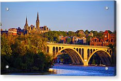 Georgetown Acrylic Print by Mitch Cat