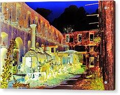 Ghost Train Acrylic Print by Chuck Staley