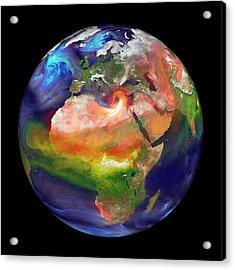 Global Fires Acrylic Print