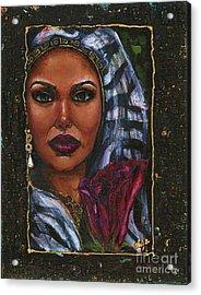 Acrylic Print featuring the painting Glorious by Alga Washington
