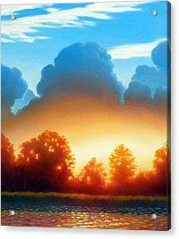 Glowing Acrylic Print