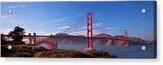 Golden Gate Bridge San Francisco Acrylic Print by Panoramic Images