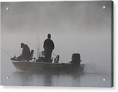 Acrylic Print featuring the photograph Gone Fishing by Bruce Bley