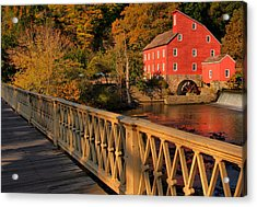 Good Morning Red Mill Acrylic Print