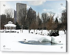 D48l3 Goodale Park Photo Acrylic Print