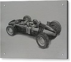Graham Hill  Brm Acrylic Print