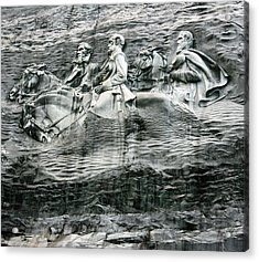 Acrylic Print featuring the photograph Granite by Steve Godleski