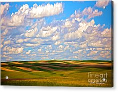 Great Plains Acrylic Print